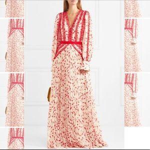 Self-Portrait Print Dress